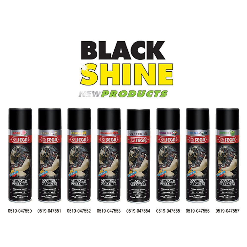 BLACK SHINE COCPIT CLEANER
