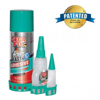 Sega Fix MULTI-PURPOSE FAST ADHESIVE 3IN1