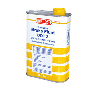 Sega Lubricant BRAKE FLUID DOT3